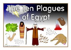 A set printable visual aids for retelling and discussing the Old Testament recount of Moses and the Ten Plagues of Egypt Moses Bible Crafts, Bible Story Crafts, Bible Stories, Bible Lessons For Kids, Bible For Kids, Sunday School Lessons, Sunday School Crafts, Plagues Of Egypt, 10 Plagues