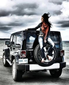 Jeep Girl - love this pic