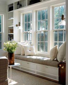 Built-in window bench