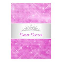 >>>This Deals          	Sweet 16 Pink Glitter Silver Jewel Tiara Party 16 Announcements           	Sweet 16 Pink Glitter Silver Jewel Tiara Party 16 Announcements We have the best promotion for you and if you are interested in the related item or need more information reviews from the x customer...Cleck Hot Deals >>> http://www.zazzle.com/sweet_16_pink_glitter_silver_jewel_tiara_party_16_invitation-161167961384954807?rf=238627982471231924&zbar=1&tc=terrest