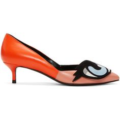 Pierre Hardy Orange Oh Roy Heels ( 785) ❤ liked on Polyvore featuring shoes 137e5c3c689