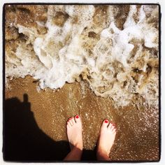 Dare to get your feet wet