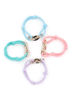 Misel Pastel Friendship Bracelet