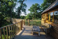 13 Amazing Treehouse Holidays With a Hot Tub in the UK [2021] Carlisle Castle, Canopy And Stars, Holidays In Cornwall, Outdoor Seating, Outdoor Decor, Wooden Steps, Log Burner, New Property, Isle Of Wight