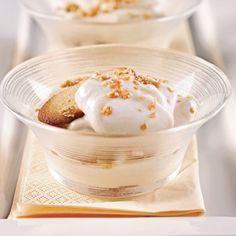 Petits nids croustillants au chocolat et riz soufflé - Les recettes de Caty Biscuits Graham, Beignets, Muffins, Deserts, Appetizers, Ice Cream, Pudding, Breakfast, Apple Crisp