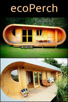 Made using sustainable, eco-friendly materials, the structure can be installed and habitable within 5 days with minimal impact to the site. #eco-friendlyhomes