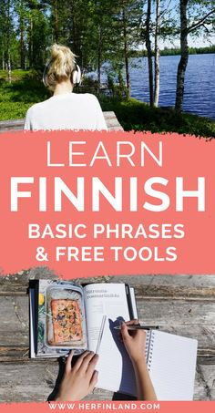 Want to learn Finnish but don't know how? This article helps you start your Finnish language journey! It includes basic phrases in Finnish and free online tools. Click over to read more! Thailand Travel, Croatia Travel, Bangkok Thailand, Hawaii Travel, Italy Travel, Finland Destinations, Holiday Destinations, Finland Travel, Finland Food