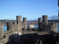 Conwy Castle by barnyz, via Flickr