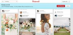 Try not to make your boards too public! | 5 Mistakes Brides Make When Wedding Planning on Pinterest | Estate Weddings and Events