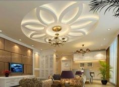 8 unique False ceiling modern designs interior living room