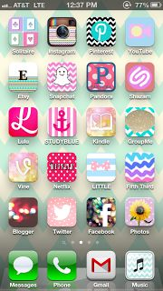 The app Cocoppa lets you change your iPhone app pictures! WHAAAT??
