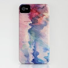 """Somewhere Over the Rainbow"" iphone case $35 #gift #painting #tech"