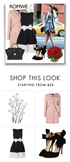 """""""Romwe 5"""" by aida-1999 ❤ liked on Polyvore featuring Universal Lighting and Decor, Simone Rocha, Forever 21, women's clothing, women, female, woman, misses and juniors"""