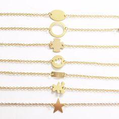 Mazel Jolie Bijoux : Bracelets plaqué or Collection à petitprix 10€  No...