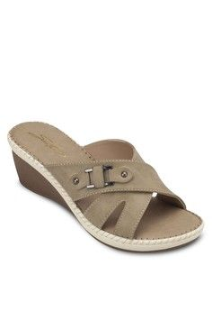 Comfy Sandals from SENTINI in green_1