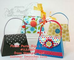 Tutorial to make the Stampin Up Petite Purse