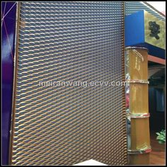 aluminium building facade expanded mesh (HJ-E) - China expanded aluminum mesh;aluminium building facade expanded mesh;aluminum expanded m...