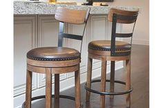Light Brown Pinnadel Counter Height Barstool View 1