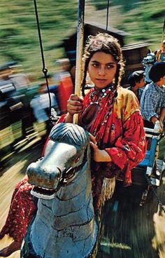 "Cover photo from the book: ""Gypsies, Wanderers of the World"" Photographed by Bruce Dale, Text by Bart McDowell, 215 pages, copyright 1970 National Geographic Society"
