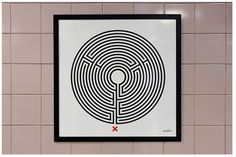 Art on the Underground Labyrinth Products