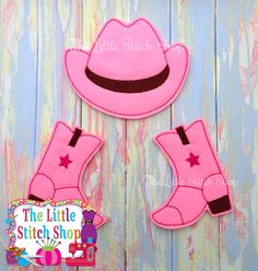 Cowgirl Over Sized: The Little Stitch Shop
