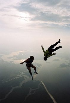 Skydiving is also on my list. Should probably happen soon!