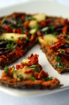 Raw Dehydrated Pizza