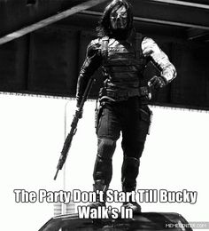 This <3 #Bucky #WinterSoldier