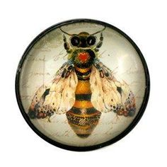 Bee Glass Knob