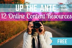 12 Free Resources for Creating Online Content | GrubStreet