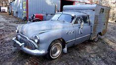Pre-Winnebago: 1949 Buick Super Camper #Projects #Buick - https://barnfinds.com/pre-winnebago-1949-buick-super-camper/