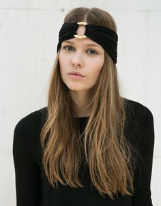 Bershka Turkey - Golden circle headband