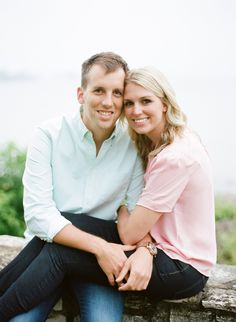 Just so classic. Door County, WI Engagement photos by The McCartneys Photography, as seen on Style Me Pretty