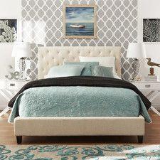 Katrita Upholstered Platform Bed | Bedroom