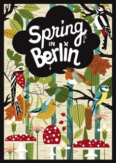 Spring in Berlin Poster for Dpi-Magazin