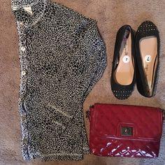 ❤️Sale❤️Animal print cardigan Lovely animal print sheer cardigan with gorgeous metallic buttons...100% nylon...great condition Laura Ashley Tops