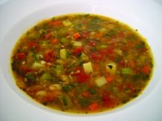 Hot and Hearty Minestrone by Emeril.