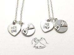 His Only Her One Necklace December 2017
