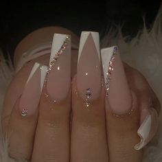 Acrylic Nails Coffin Pink, Long Square Acrylic Nails, Simple Acrylic Nails, Coffin Shape Nails, Summer Acrylic Nails, Acylic Nails, Nagellack Design, Fire Nails, Nagel Gel