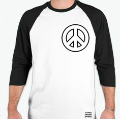 Cool Shirt http://stoned-dreams.com/collections/tees/products/peace-bball-tee