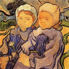 Two Children - Vincent van Gogh