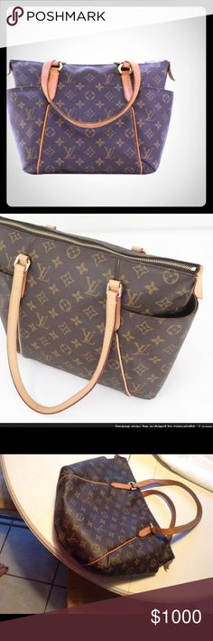 Louis Vuitton Canvas Monogram Totally PM bag Vintage & in superior/excellent condition.  My price is Firm, but bids will be considered.  No low balling, as I will not even bother to respond. Louis Vuitton Bags Totes