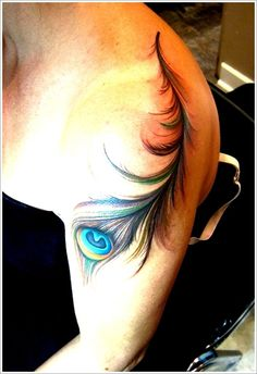Persevering Your Feather Tattoos ideas: Color Of Peacock Feather Tattoo Designs For Women On Sleeve ~ Men Tattoos Inspiration