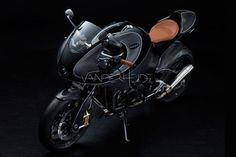 Custom Aprilia RSV4-powered carbon-fibre sportsbike