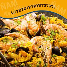 Si vienes unos días, no te vayas sin probar nuestra #paella, uno de los platos estrella de la gastronomía de #Benidorm