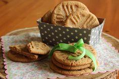 Sušenky z arašídového másla