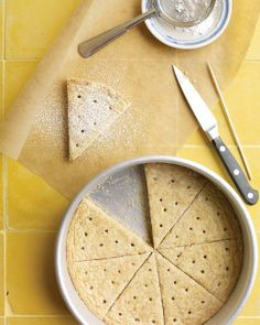 Walnut Shortbread Recipe