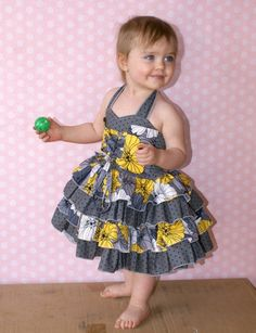 Baby Primrose's Ruffled Corset Princess Dress PDF Pattern by Create Kids Couture PDF Sewing PatternA PDF Sewing Pattern Company for Boutique Clothes and Accessories including cross stitch patterns. Baby Dress Design, Baby Girl Dress Patterns, Frock Design, Dress Sewing Patterns, Baby African Clothes, African Dresses For Kids, Little Girl Dresses, Girls Dresses, Baby Frocks Designs
