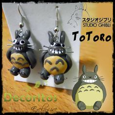 "Earrings ""Totoro"""