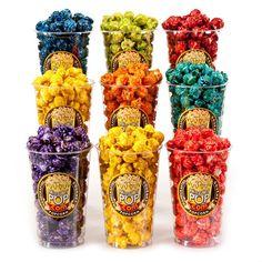 Fruit Fusion Candied Popcorn Sampler by KingOfPOP.com
